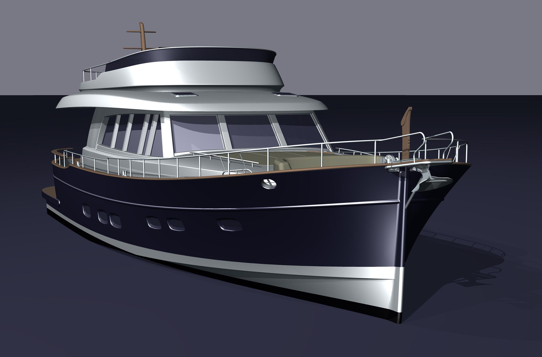 Minorca Islander 68 yacht for sale