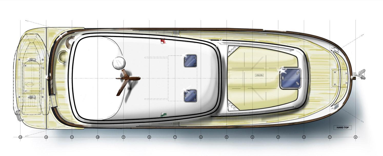 Minorca islander 42 hardtop layout