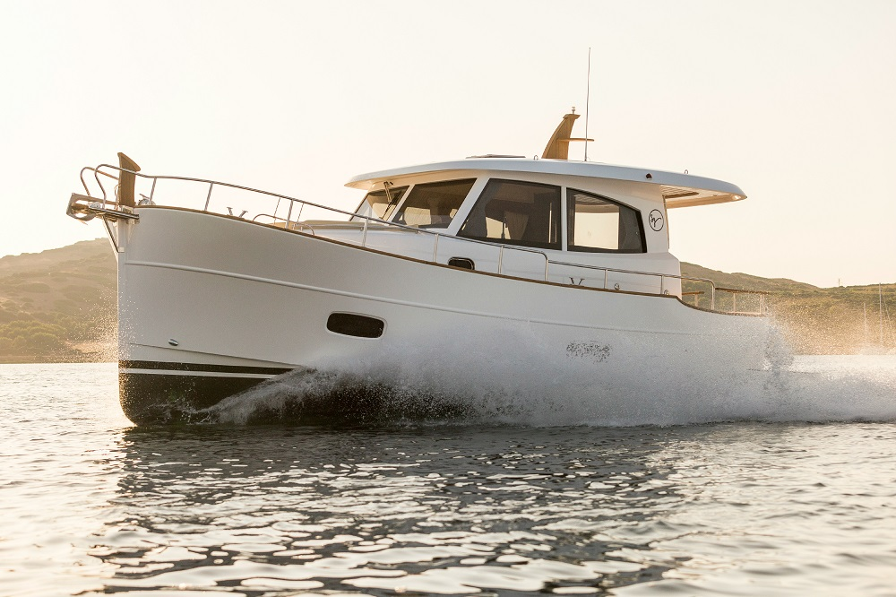 Islander 34 will be on display at the Suncoast Boat Show