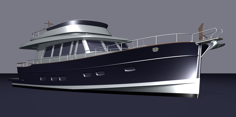 Islander 68 yacht for sale