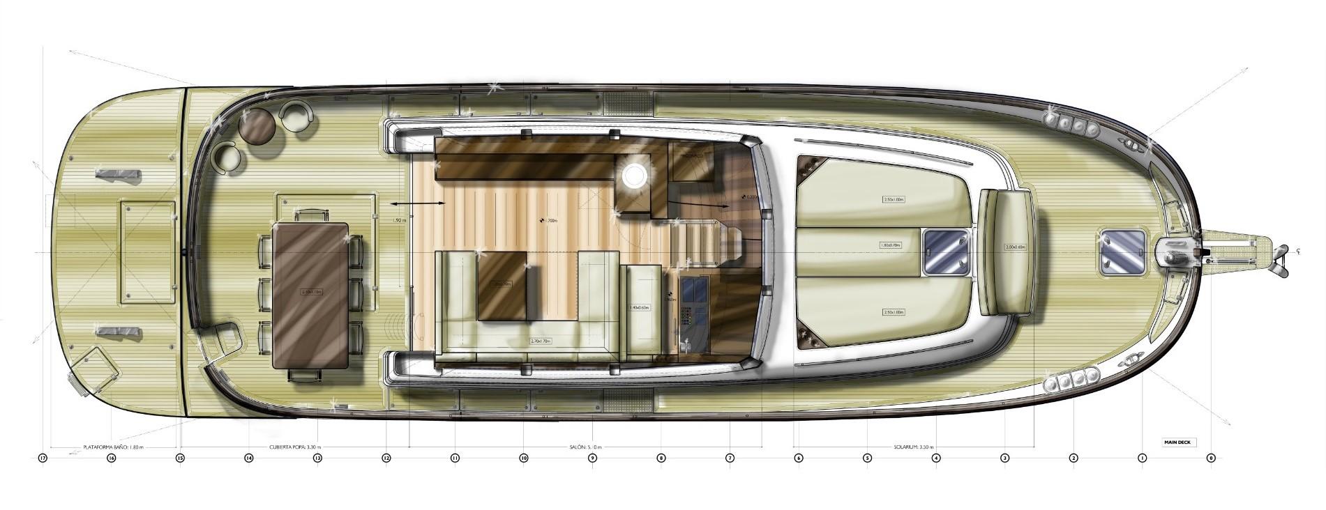 minorca islander 54 hardtop main deck layout 2