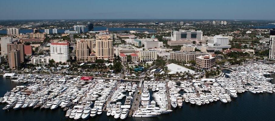 2018 Palm Beach International Boat Show with Minorca Yachts