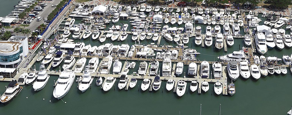 2018 suncoat boat show with Minorca Yachts