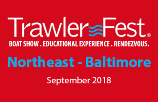2018 TrawlerFest Boat Show Baltimore